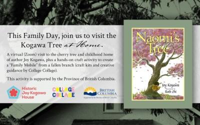 This Family Day, Visit the Kogawa Tree at Home