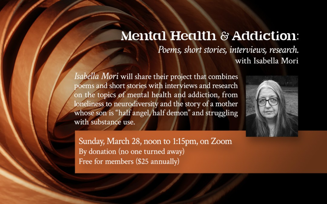 Mental Health & Addiction with Isabella Mori