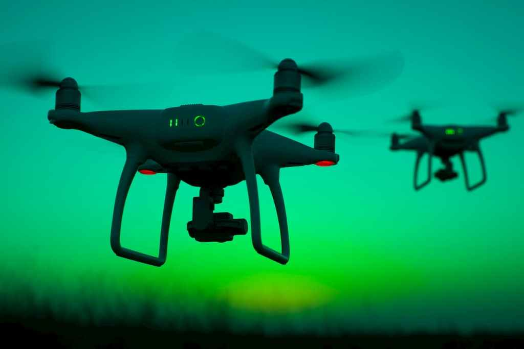 Drones Symbolic of Digital Transformation