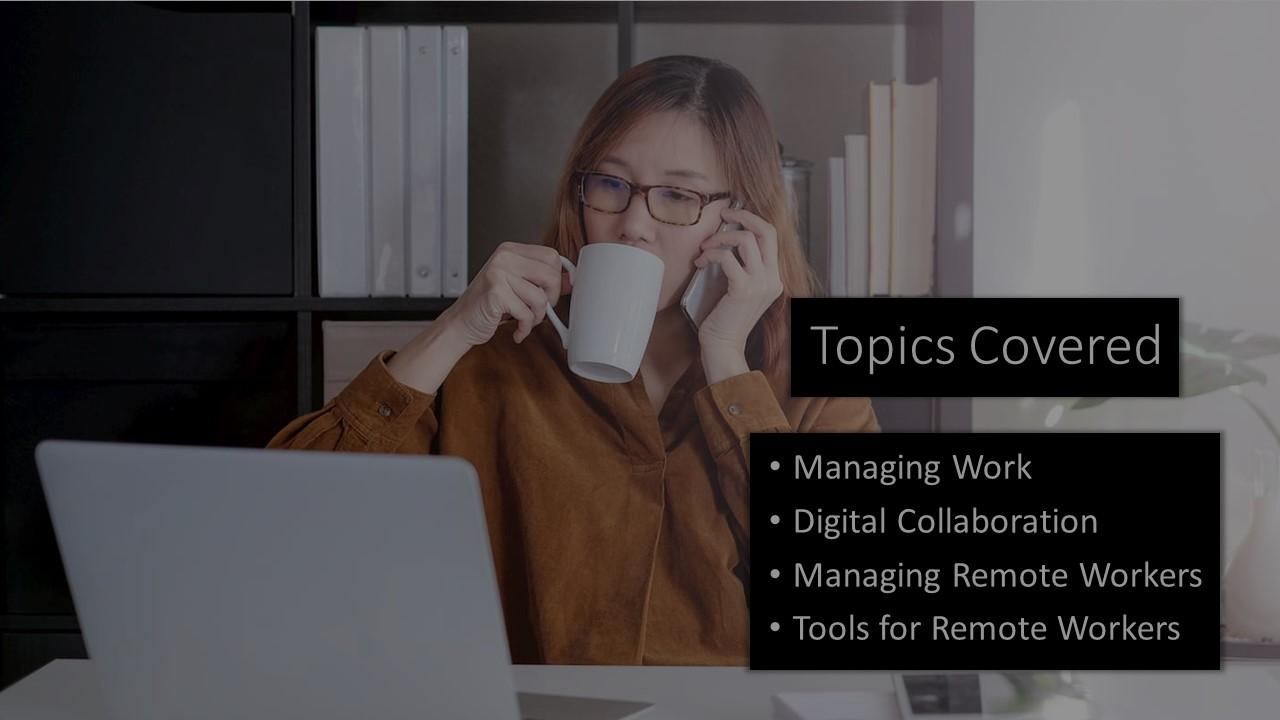 WFH and Managing the Digital Teams Webinar