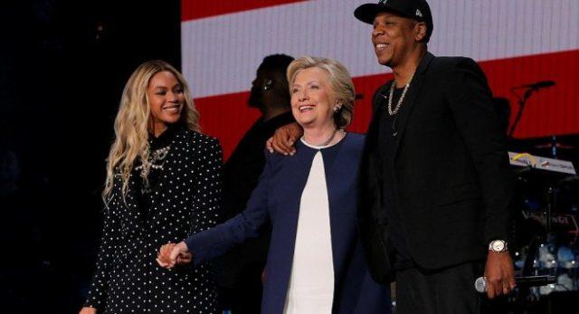 Jay-Z e Beyonce ndihmojnë Hillary-n për fushatën