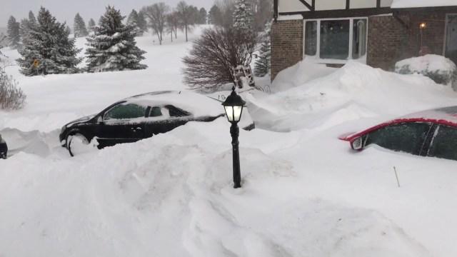 Ja ç'po bën bora në SHBA (video dhe foto)