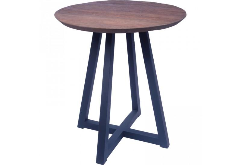 table haute mange debout bukit en vieux teck