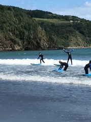 Surfing Lessons in Raglan 2018