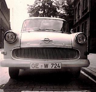 Lo Lange Opel P1 Bj63 front
