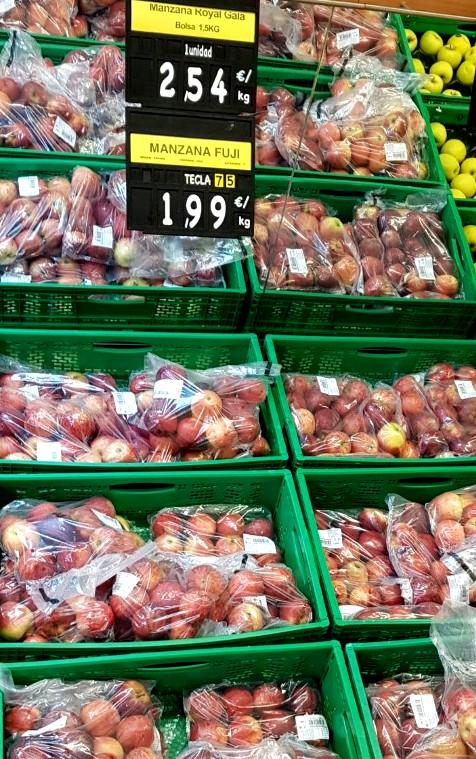2019-09 MERCADONA Äpfel
