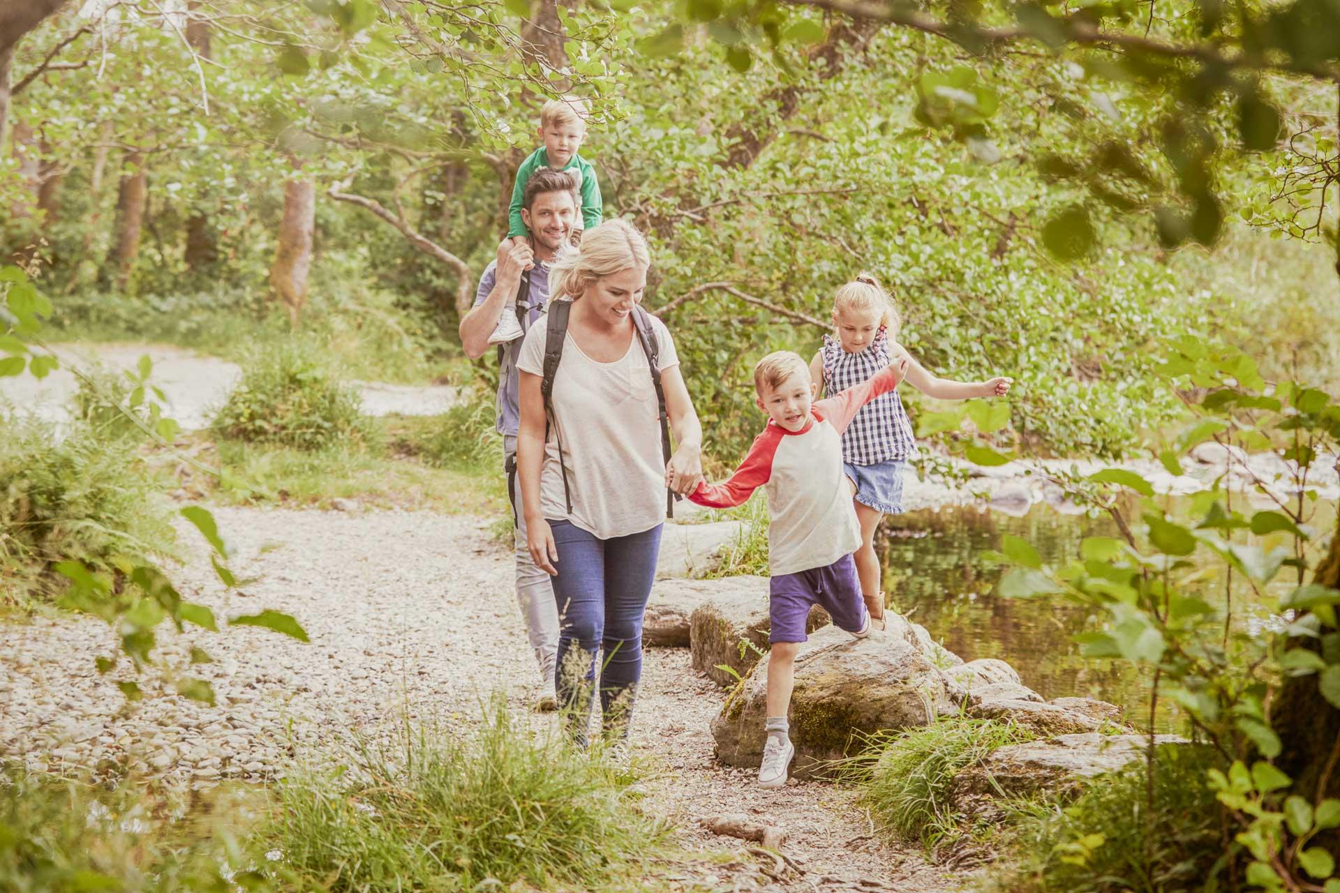Hiking at Kohlnhofer Insurance Agency