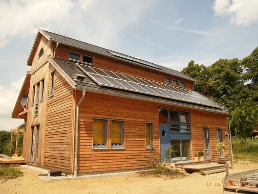 Eigenheim mit Solaranlage