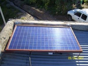 Solarmodul für das Mosambikprojekt