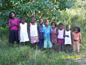 Kinder im Mosambikprojekt 2007