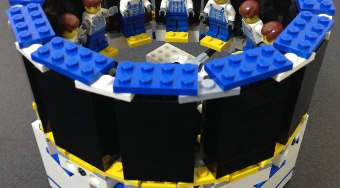 The Zoetrope – Real LEGO 3D Animation –
