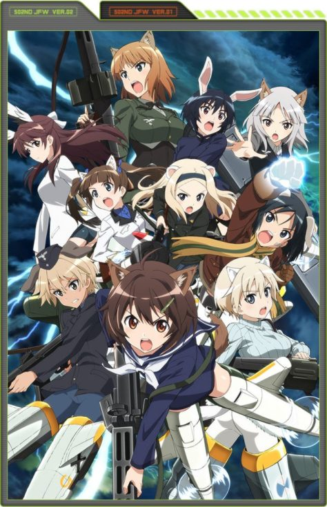 Brave Witches anime imagen promocional