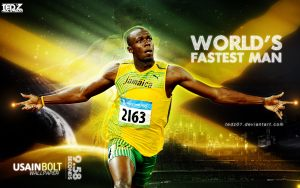 usain bolt world record, Usain Bolt record
