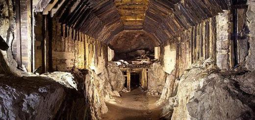 gallerie polacche Walbrzych si cerca l'oro nazista