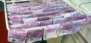 pescare soldi nel danubio