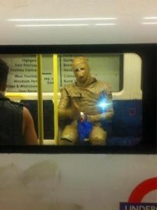 starwars in metropolitana foto divertenti, foto comiche, foto pazze