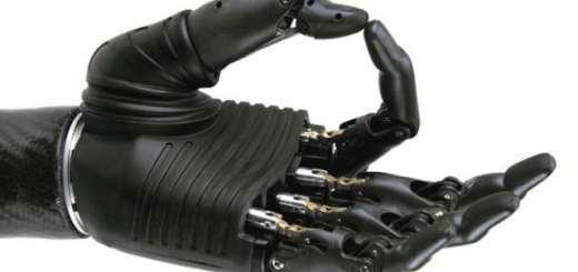 bionic hand mano bionica in legno Andrei Blindu