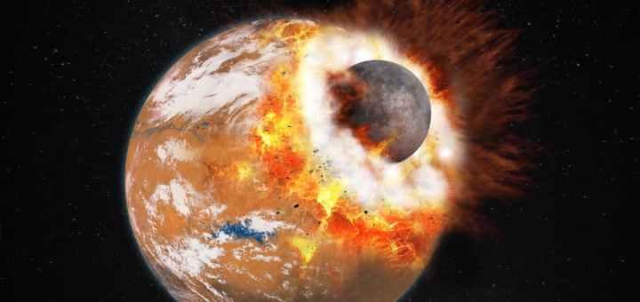 Come è nata la luna? Una nuova idea sulla sua formazione.