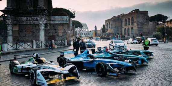 Circuito di Formula E a Roma