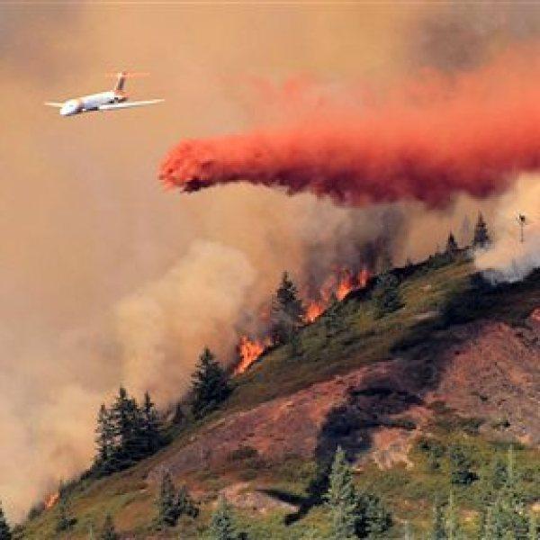 Oregon Wildfires onion mountain 09142014 ap_91049
