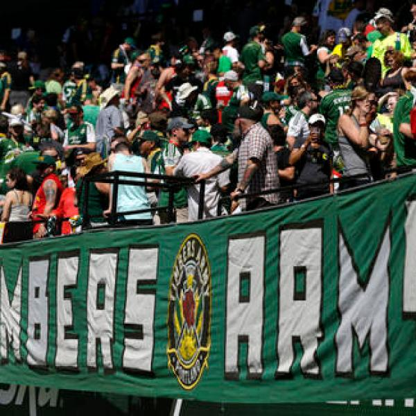 MLS Sounders Timbers Soccer_342046