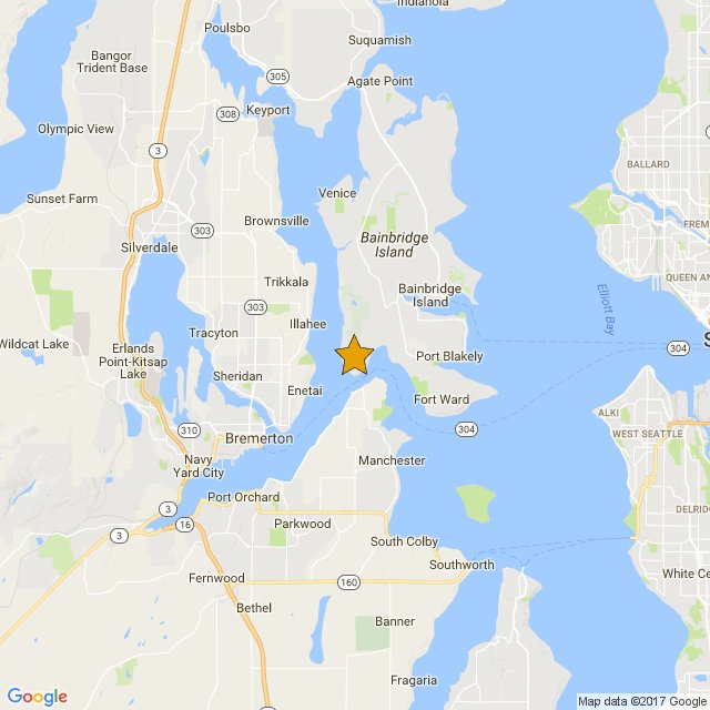 A swarm of earthquakes hit near Bremerton, Washington, May 2017. (Twitter_The Pacific Northwest Seismic Network)_457015