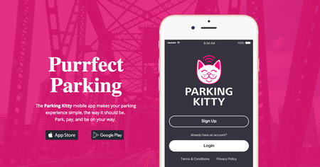 Parking Kitty is Portland's new mobile app_460620