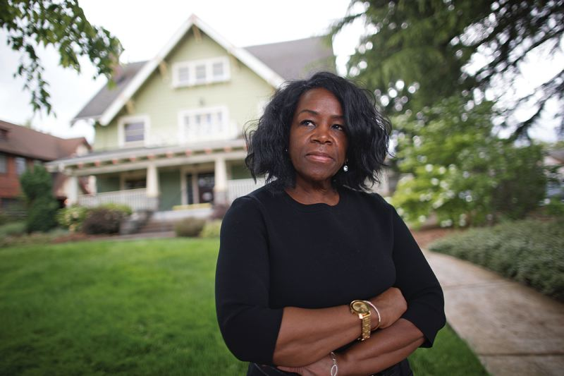Maxine Fitzpatrick, executive director of Portland Community Reinvestment Initiatives, says historical displacement and ongoing barriers to hom_470294