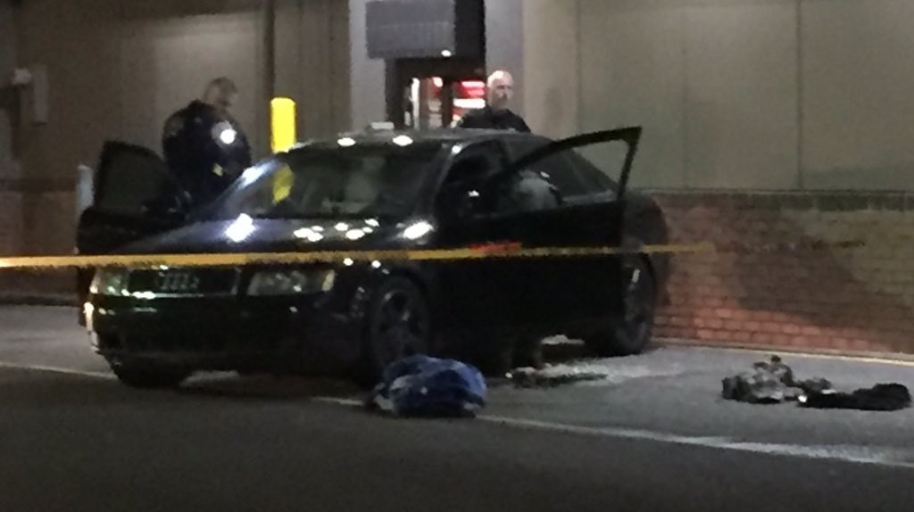 Man found dead in car after backing into McDonald's