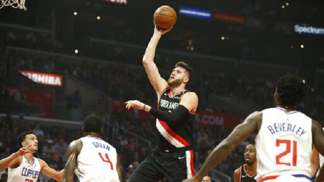 Trail Blazers Clippers Basketball_1553834570897