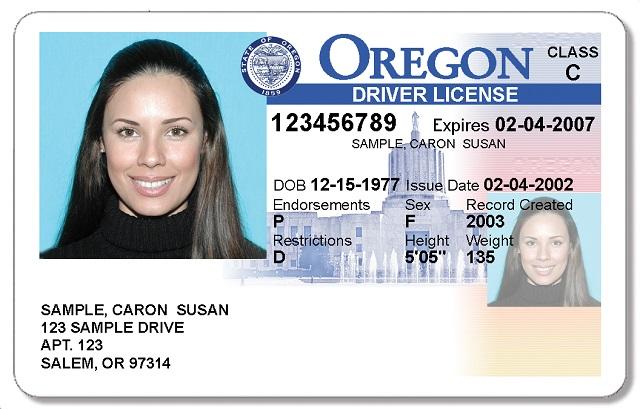 generic oregon driver license 05102017_456660