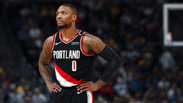 Trail Blazers Nuggets Basketball_1557292686368