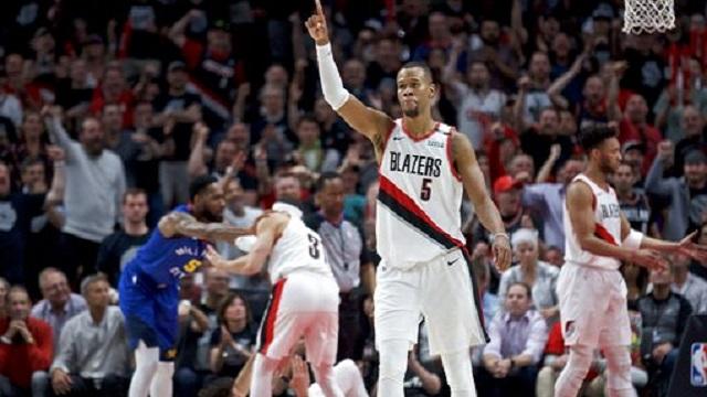 Nuggets Trail Blazers Basketball_1557607483129