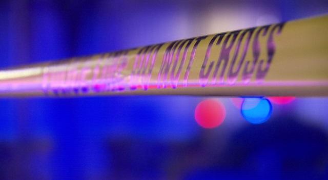generic police tape crime scene