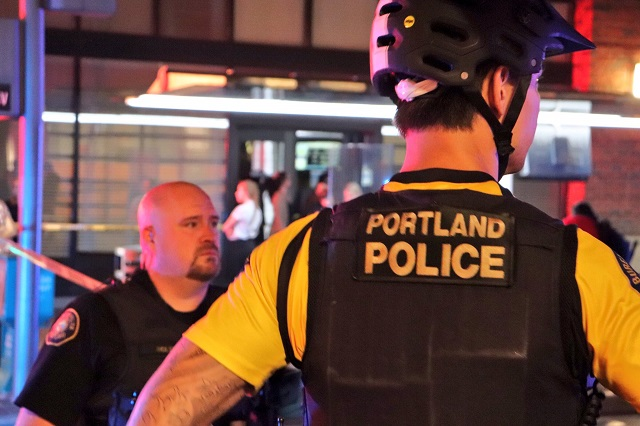 portland police generic officers