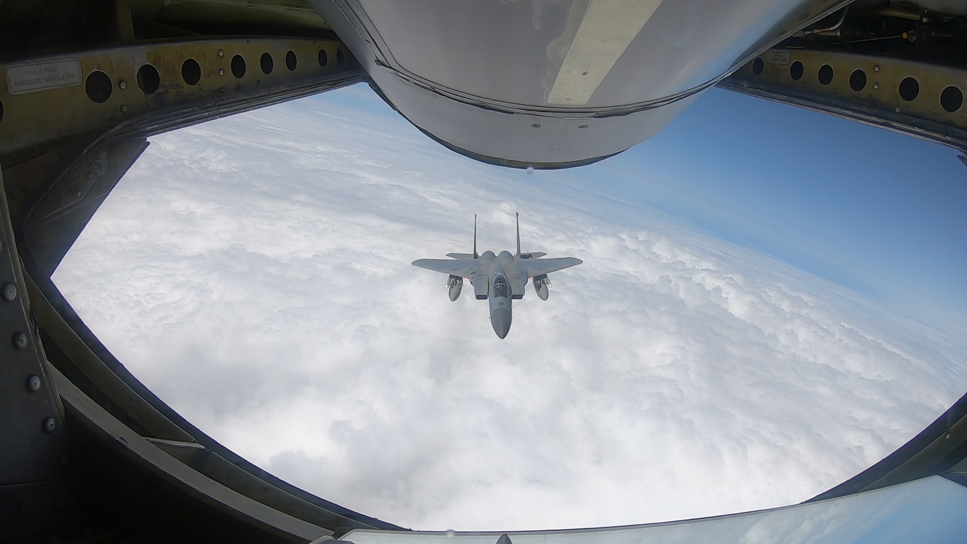 142nd fighter wing refueling