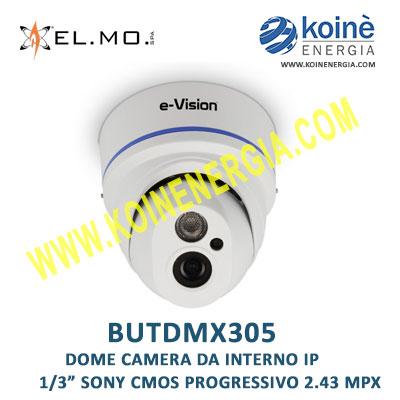 BUTDMX305 elmo telecamera dome