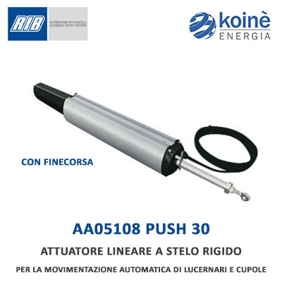 PUSH 30 AA05108 Rib attuatore