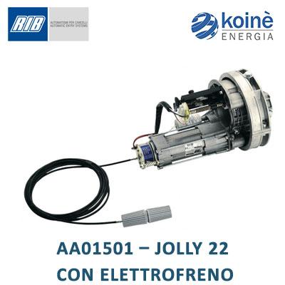 AA01501 JOLLY 22 con elettrofreno Rib