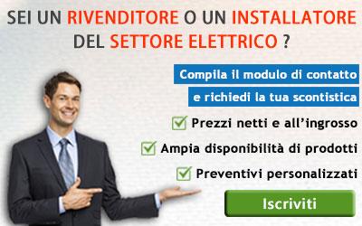 Listini per rivenditori e installatori settore elettrico