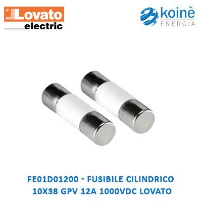 FE01D01200 Lovato fusibile
