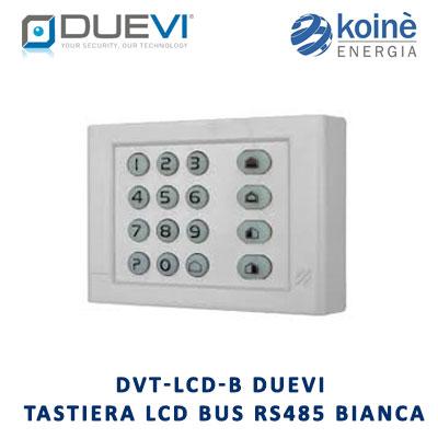 DVT LCD B Duevi tastiera