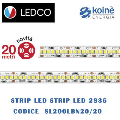 ledco strip led SL200LBN20 20