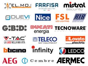 loghi aziende materiale elettrico