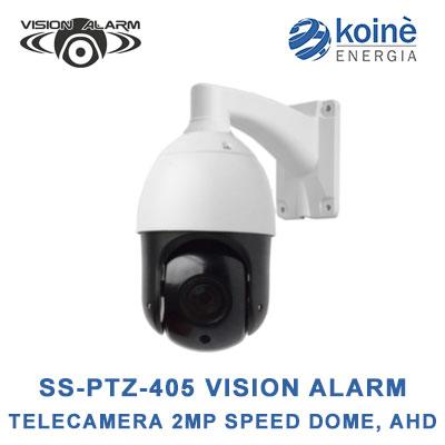 SS-PTZ-405 VISION ALARM TELECAMERA VIDEOSORVEGLIANZA
