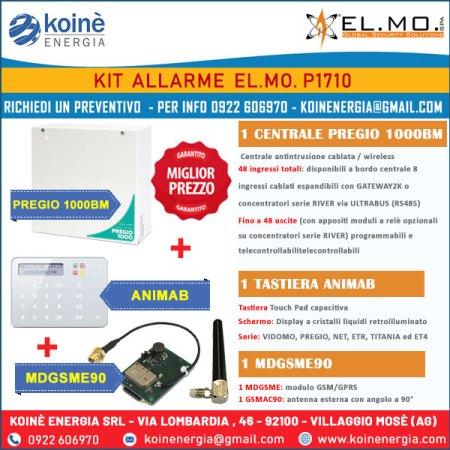 kit allarme elmo p1710