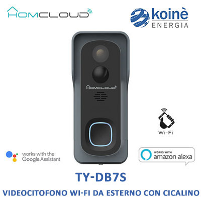 ty-db7s homcloud videocitofono wifi