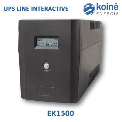 UPS EK1500 gruppo di continuità