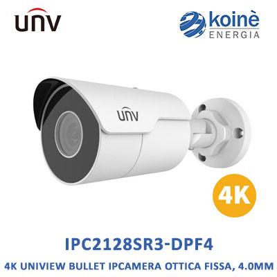 Uniview IPC2128SR3-DPF4 telecamera bullet