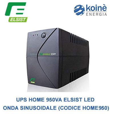 Ups Home 950VA Elsist - Gruppo di continuità